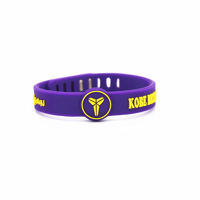Basketball star adjustable sports Silicone Wristband  bracelet 1