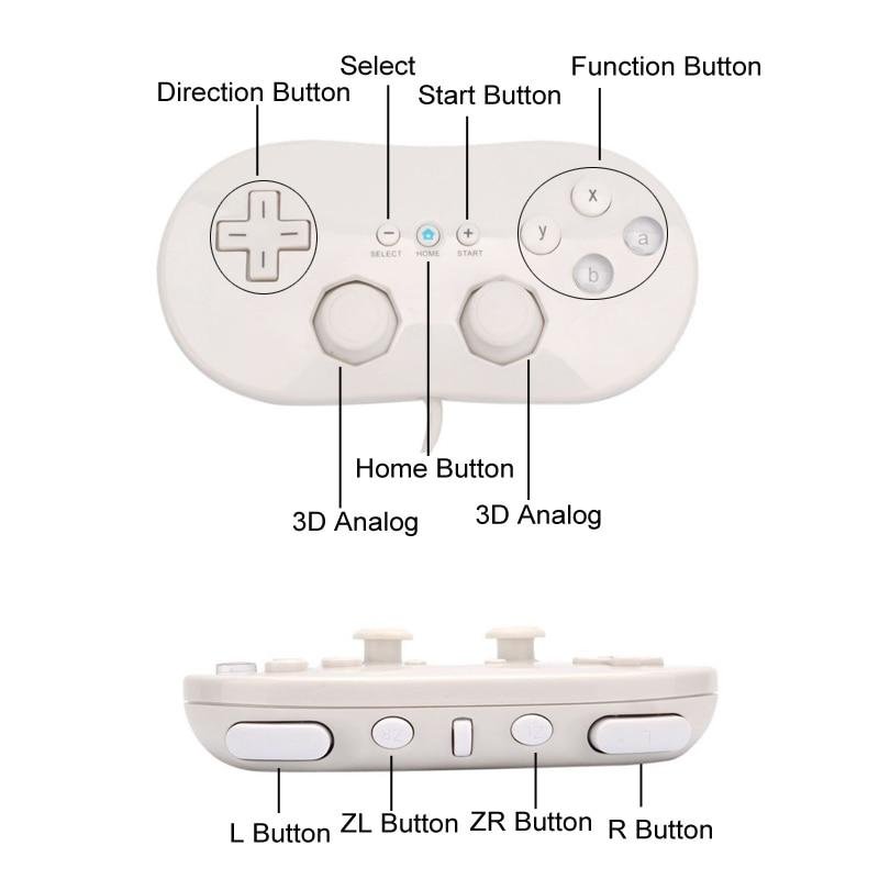 Aliexpress Buy Mini Classic Controller Pro For Nintendo For