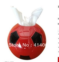 Free Shipping Waterproof Football Tissue Pumping Bomb Paper Towel Tube Towel Sets Roll Paper Tube Tissue