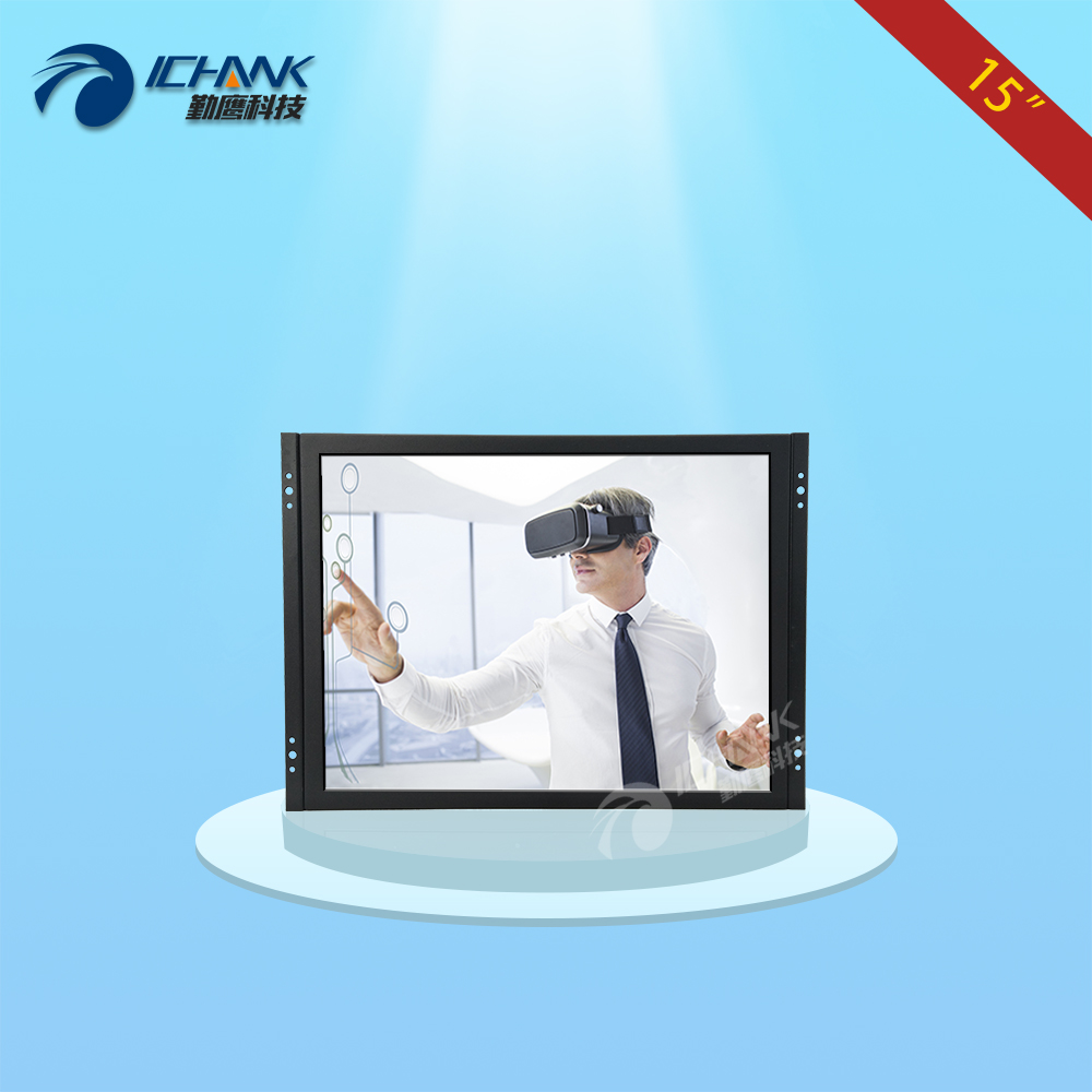 ZK150TC-V59D/15 inch 1024x768 4:3 HDMI Metal Case Embedded&Open Frame&Wall-mounted Free Drive Ten-point Capacitive Touch Monitor zk150tn dv 15 inch 1024x768 4 3 hd metal case open frame