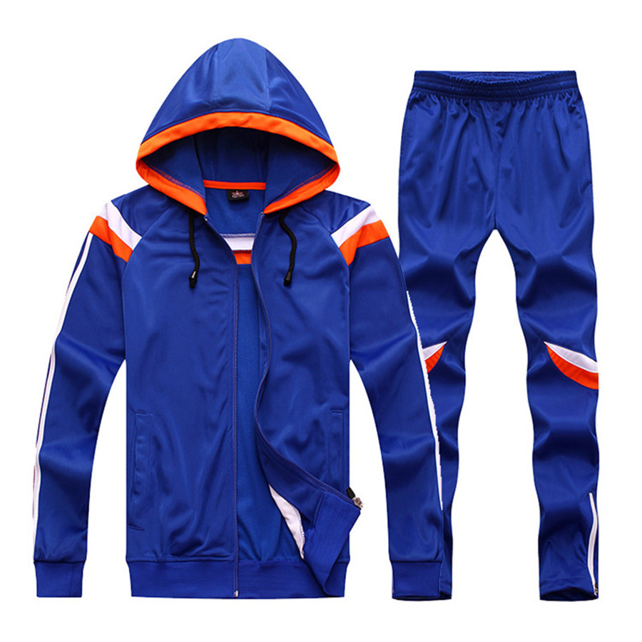 2017 New Winter Men Women Soccer jerseys Long Sleeve Training Pants set Survetement Football trousers Jacket Shirts hooded  kelme top quality survetement football waterproof jackets soccer uniform athletics jogging training soccer champions windcoat 28