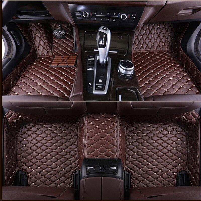 Car Floor Mats For KIA K2/3/4/5/7 Borrego KX3 Cerato Sportage Optima Maxima Carnival Rio Ceed Carens Sorento Custom Foot Styling