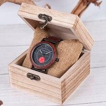 BOBO BIRD Newest Wooden Watches Men Women Quartz Wristwatches Timepieces Metal+Wood Strap Top Brand Design R12 R13