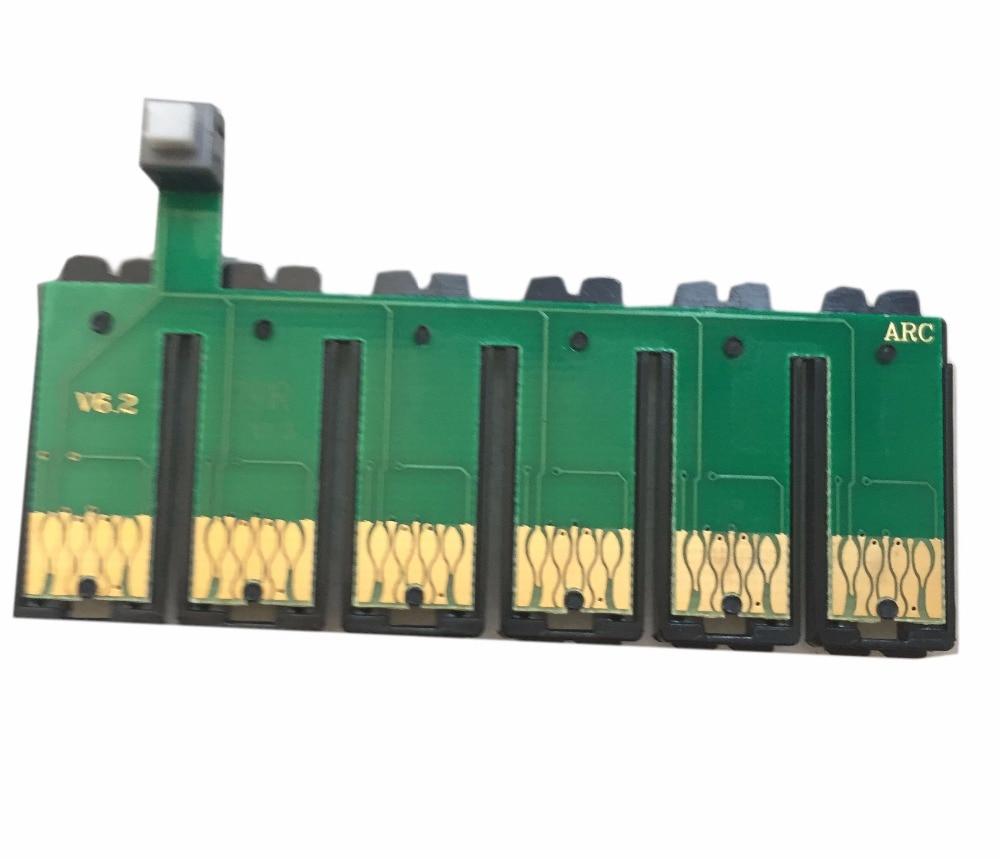 Einkshop 82N T0821N-T0826N CISS Reset Chip Combo Para Epson T50 T59 RX615 R270 R290 TX700 TX800 TX710W TX650 TX810FW TX820FWD