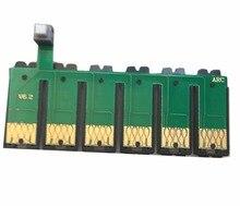 82N T0821N-T0826N  CISS Combo Reset Chip For Epson T50 T59 RX615 R270 R290 TX700 TX800 TX710W TX650 TX810FW TX820FWD  free shipping 100ml x 6 color t0821n t0822n t0823n t0824n t0825n t0826n edible ink for epson t50 t59 inkjet printer