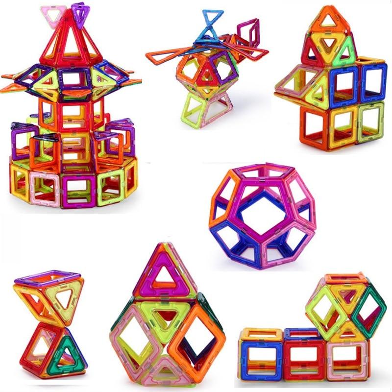 BD 118pcs Mini Magnetic Blocks  Designer Construction 3D Model Magnetic Blocks Educational Toys For Children picaso 3d designer