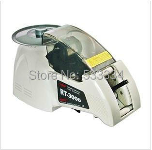 Automatic Tape Dispenser/Electric Auto Tape Cutter Machine RT-3000 tape dispenser knokoo electric tape dispenser rt 3700 carousel automatic tape dispenser rt3700 tape cutter 15mm 70mm cutting length ce approval