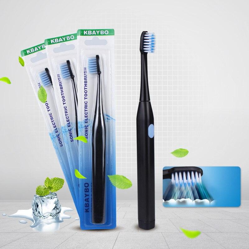 Cepillo de dientes eléctricos inteligentes Blanqueamiento Dental cepillo de dientes cepillo eléctrico no Rechargea de atención de la salud Dental
