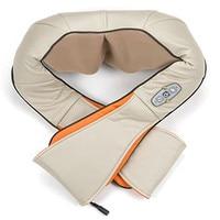 Medical Equipment Pain Relief Massager Shiatsu Kneading Heated Massage Pillow Back Foot Neck Shoulder Massage Home Car Use