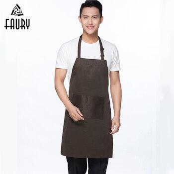 Logo personalizzare grembiuli colore puro regolabile da cucina abbigliamento da lavoro grembiuli - Abbigliamento da cucina ...