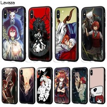 Lavaza A Antiga Magus' Noiva Silicone Soft Case para o iphone 11 XS Pro Max XR X 8 7 6 6S Plus 5 5S SE(China)