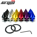 Ace speed-Racing Aluminium Quick Release Fasteners For Car Bumpers Trunk Fender Hatch Lids Kit