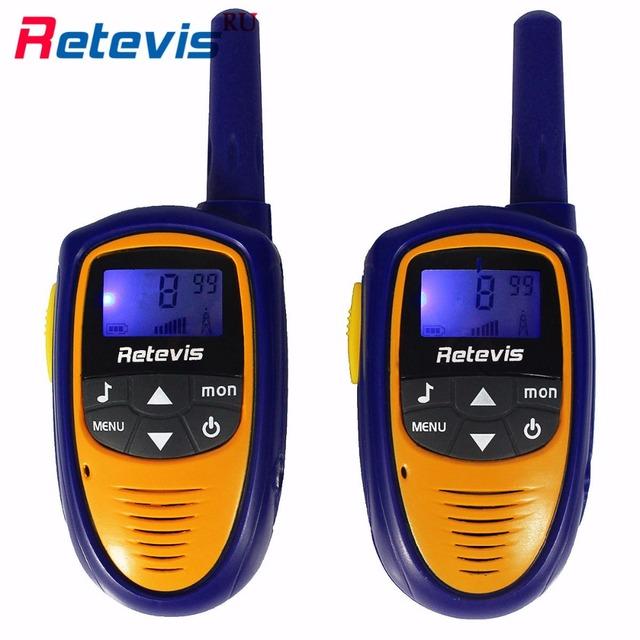 Mini corpo retevis rt31 crianças walkie talkie rádio crianças 0.5 w pmr446 8ch/22ch display lcd auto squelch vox handy transceptor hf