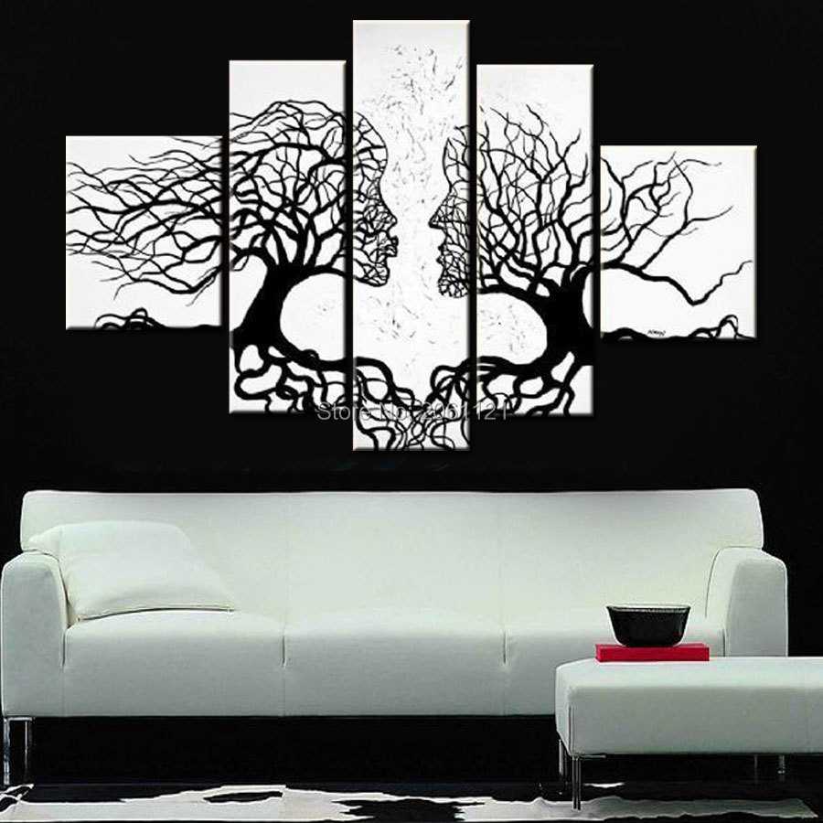 Wall Art Black And White popular wall art black and white the couples-buy cheap wall art