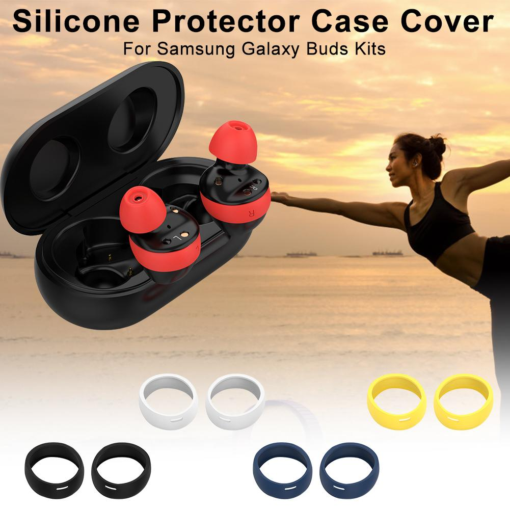 Silicone Protector Case Cover Shell Protective Shell Kits For Samsung Galaxy Buds Bluetooth Earphones Protective Decorative Kits