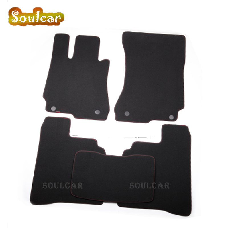 Premium Fabric Nylon Suede Washable Car floor mats for Mercedes Benz S Maybach W221 W222 W220 2006-2017 Floor carpet Liner auto fuel filter 163 477 0201 163 477 0701 for mercedes benz