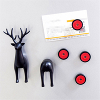 Animal Magnetism Sika Deer Fridge Magnet Multifunction Magnetic Comments Posted Tips Message Refrigerator Stickers #20