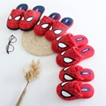 Quality  winter  Boys kids  spiderman slippers warm cool  slippers  childrens home wear Parent-child slippers  boy's best  love