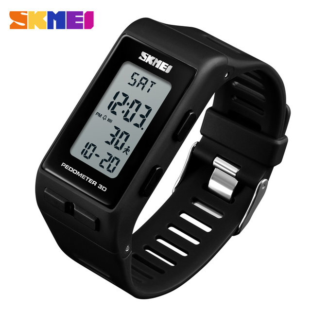 SKMEI Luxury Digital Watch Men Women Pedometer Calories Sports Watches Waterproof LED Electronic Wrist Watch Clock Male