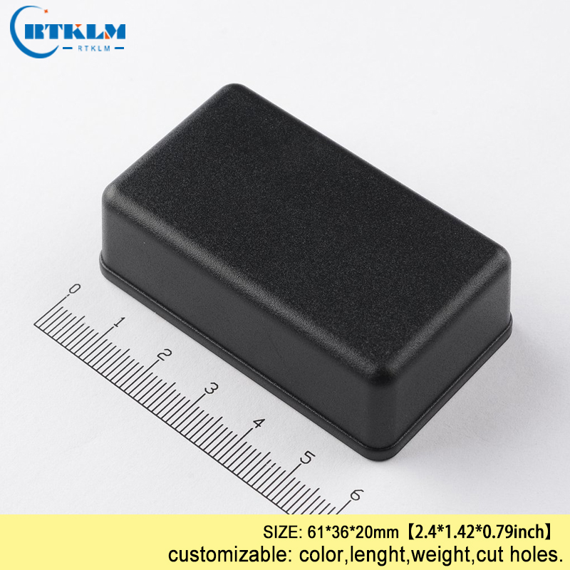 ABS Plastic Enclosures For Electronic Instrument Case Diy Plastic Project Box IP55 Junction Box Speaker Electric Box 61*36*20mm