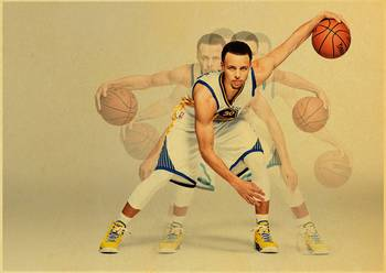 MVP basketball player Stephen Curry Art Poster kraft paper Painting Print Home Decor For Wall 2