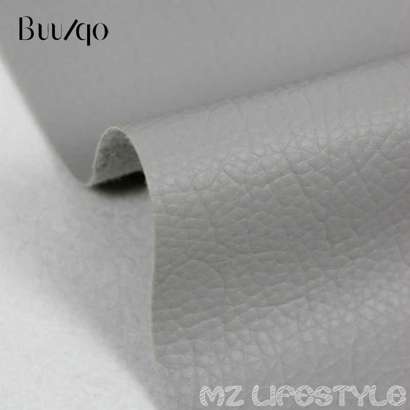 Buulqo  Big Lychee Pu Leather Faux  embossed Nice PU leather, Faux Leather Fabric for Sewing, PU artificial leather 50x35cm