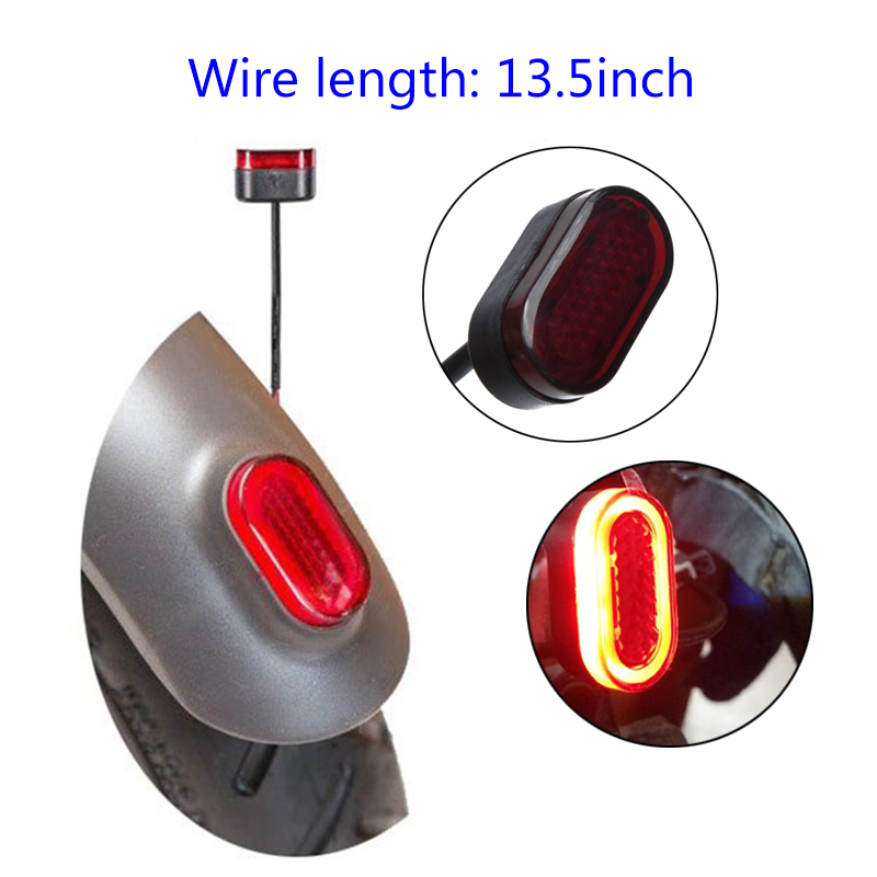 For Xiaomi Mijia M365 Taillight Lamp Rear Light Replacement LED Electric Scooter New Hot Sale Hot Sale