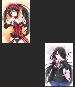 Anime Fale Stay DATE A LIVE Tokisaki Kurumi Dakimakura Hugging Body Pillow Case
