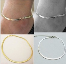 New explosion models temperament metal chain anklet fine scale selling jewelry in Europe and America