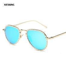 2017 Nueva Moda gafas de Sol Mujeres Diseñador de la Marca Gafas de Sol Luneta gafas de Sol Gafas Feminino Mujer Hombre