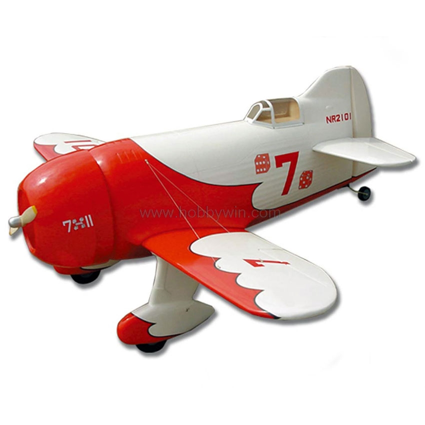 Gee Bee 1036mm ARF without electric part RC model airplane sporter Fiberglass fuselage wood wings