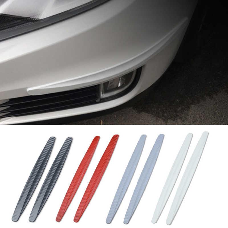 2Pcs//Set Of Rubber Universal Car Car Bumper Corner Protector Lip Guard Gadgets