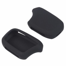 For MAGICAR KOREA Car Auto Security Alarm Two Way Remote Controller Rubber Key Chain Cover Case