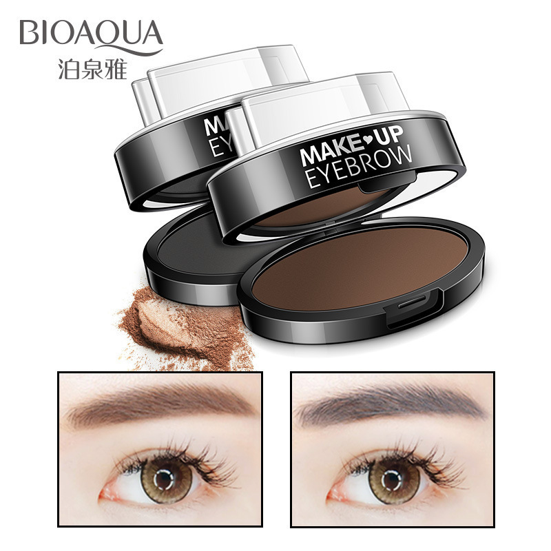 BIOAQUA Professional Fashion Eyebrow Powder Seal Eyebrow Shadow Long Lasting Waterproof Nude Makeup Women Beauty Essentials
