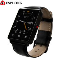 NO 1 D6 3G Smartwatch Wifi 1GB 8GB MTK6580 Quad Core Bluetooth GPS Watch Phone Heart