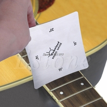 Set of 2 Guitar Bass Square Radius Gauge Fingerboard Measuring Luthier Tools