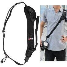 цена на Focus F-1 Quick Rapid Carry Speed Sling Belt Strap For Dslr Camera 7D 600D Mark II D800 A77 5D Mark III 60D 6D