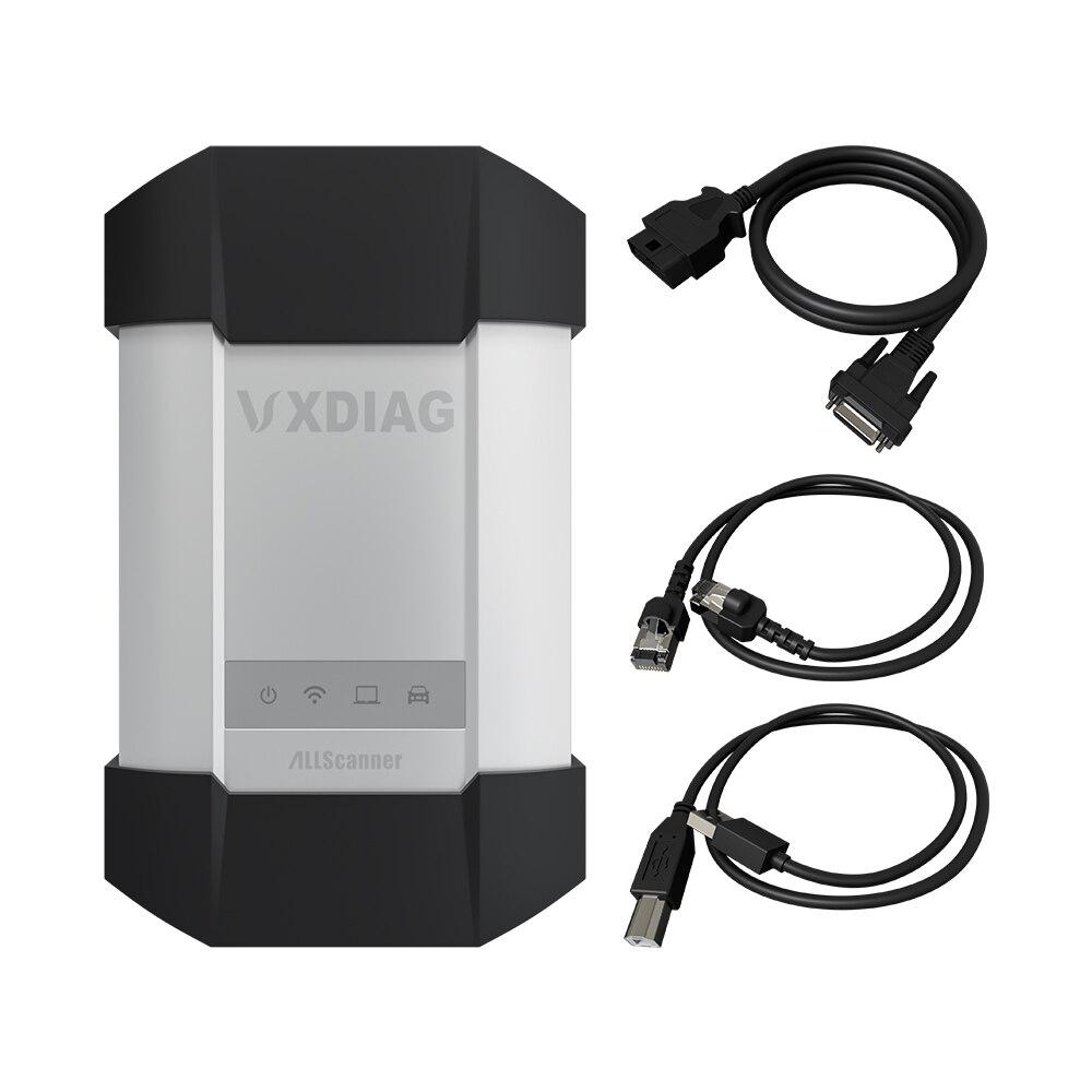 VXDIAG narzędzie diagnostyczne dla Benz C6 DOIP i funkcja AUDIO podłączone bezprzewodowo lepiej niż dla Mercedes Benz gwiazda C4 c5 skanery