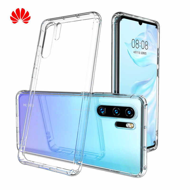 Huawei Honor 8 9 10 Lite P9 P10 Plus P20 P30 30Pro Mate 20 Pro Lite Case Clear TPU For Huawei Honor 10 Nova 3 3i Back Cover