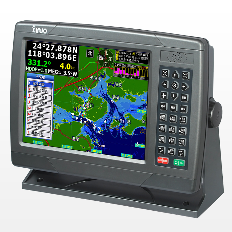 10 дюймов навигационный морской gps спутниковый навигационный инструмент маршрут водостойкий язык английский