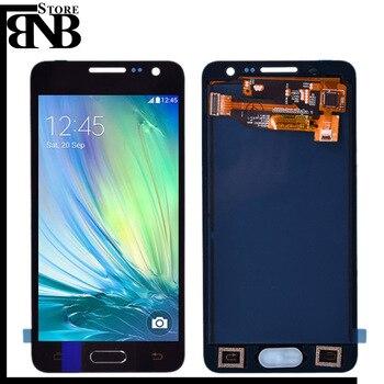 Için Samsung Galaxy A3 2015 A300 A300F A300H LCD ekran dokunmatik ekran digitizer için A3 2015 A300 Test LCD yedek tertibat