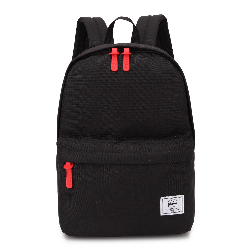 Laptop Backpack Bag For Man Woman Vintage Style Canvas Bagpack Unisex School Bags Black College Students Daybag Mochila Feminina