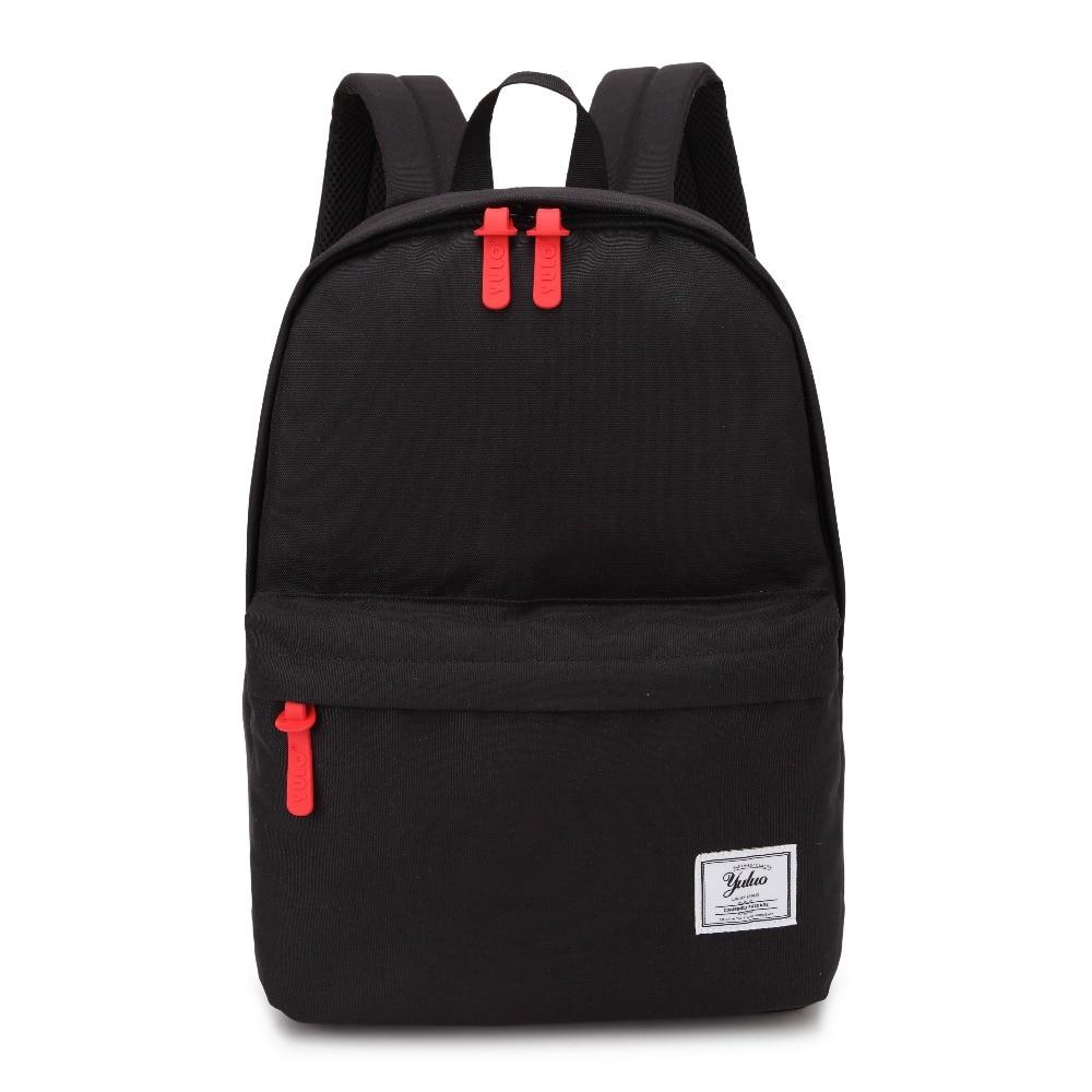 Laptop Backpack Bag For Man Woman Vintage Style Canvas Bagpack Unisex School Bags Black College Students Daybag Mochila Feminina
