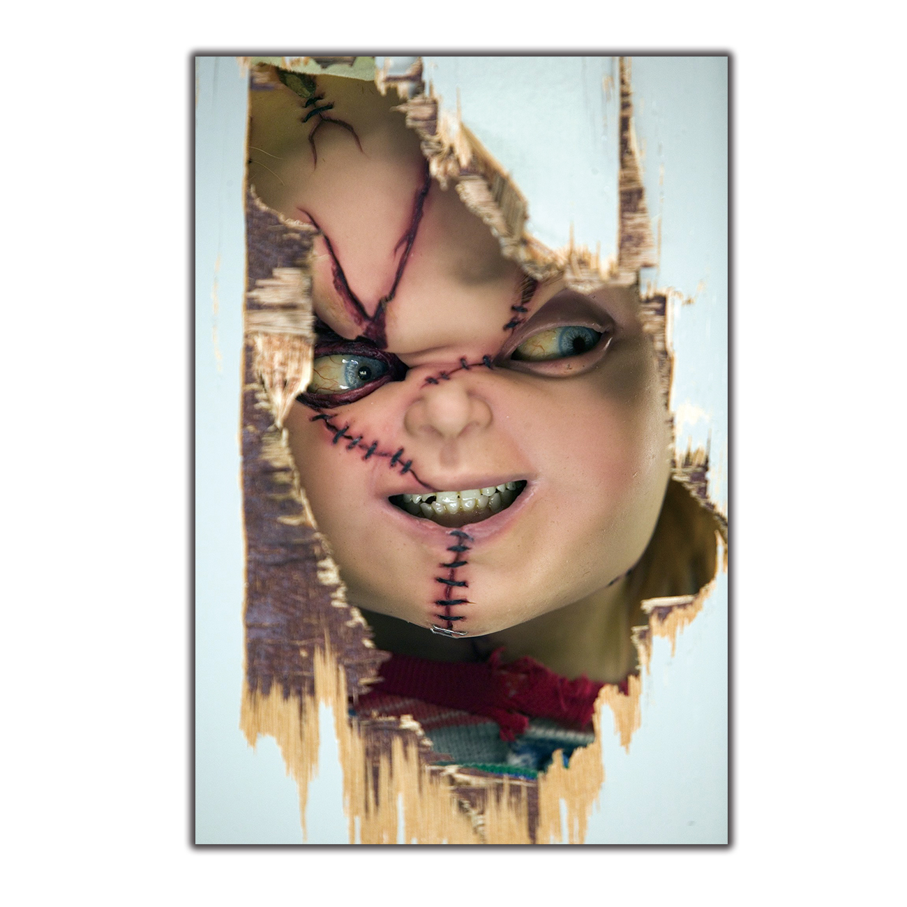 Bride Of Chucky Horror Movie Silk Fabric Poster Canvas Art Print 12x18 24x36inch