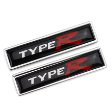купить Car Styling Auto Trunk Fender Anti-scratch Emblem Sticker For Honda City Jade Fit Jazz Civic Accord Odyssey CRV TypeR Badge дешево