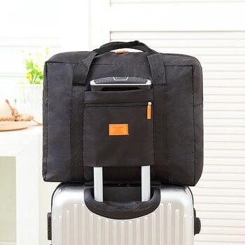 2018 New Fashion Travel Pouch waterproof Unisex Travel Handbags Women Luggage Travel Folding Bags  Large Capacity Bag wholesale Travel Bags & Luggage