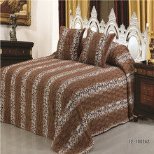 """""""CLORIS"""" Christmas Gift Warm Blanket Fleece Bedspread on the Bed Luxurious Solid Color Faux Fur Blanket"""