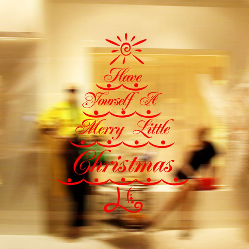 Large Size Creative Sets DIY Home Merry Christmas Quotes Wall ...