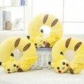 32X34CM Pokemon plush anime Yellow Pikachu U Pillow Neck Pillow Travel Pillow Airport birthday gift