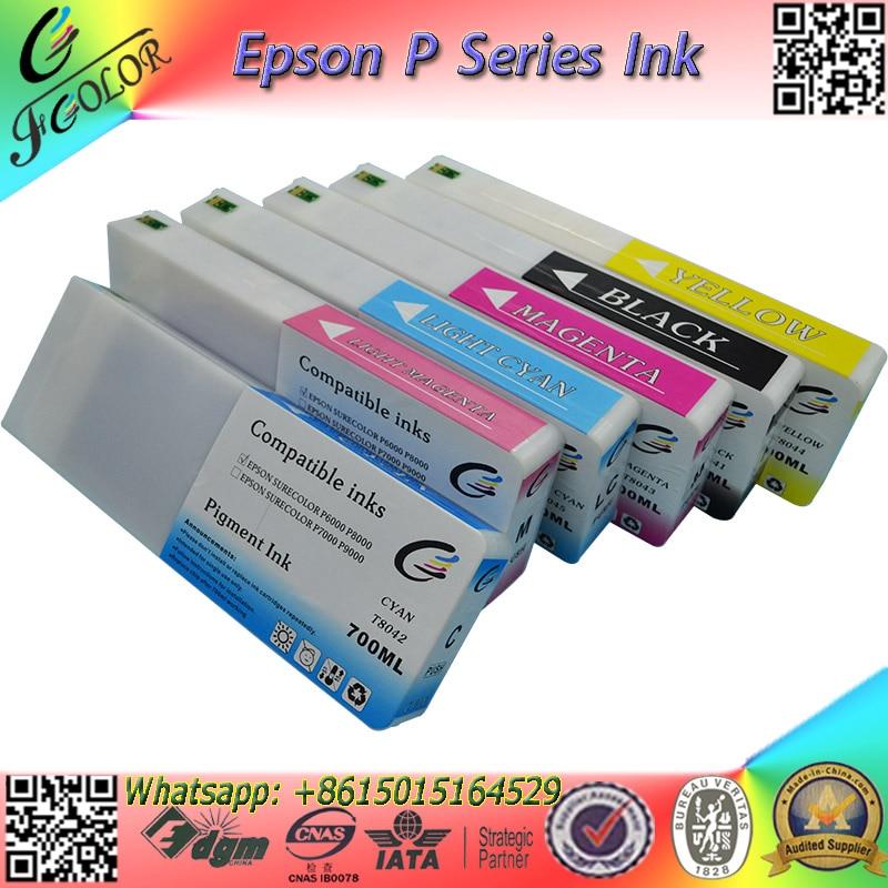 36230877d Nueva Premium T8401-9 cartucho de tinta para impresora surecolor pro P6000  P8000 tinta de impresora